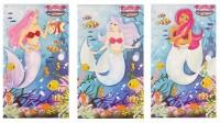 1 Meerjungfrauen Notizblock 9,3 x 5,5cm