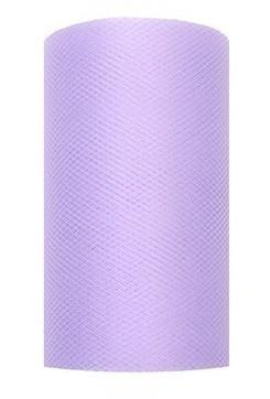 Tüll Stoff Luna lavendel 20m x 8cm