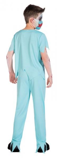 Krwawy Zombie Doktor kostium dla dzieci