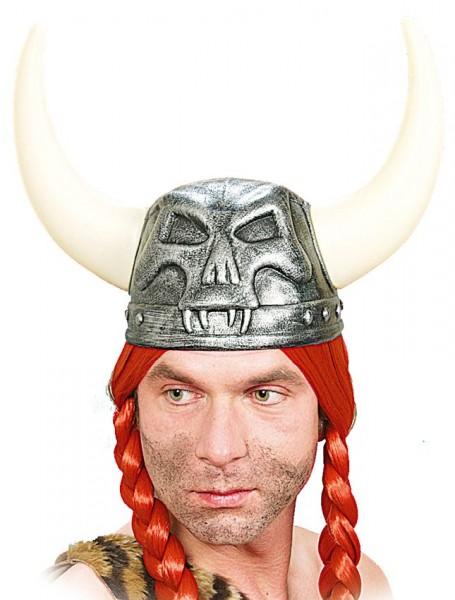 Casque viking sinistre pour adultes