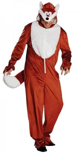 Fox kostuum jumpsuit
