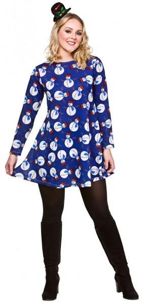 Winterland snowman dress