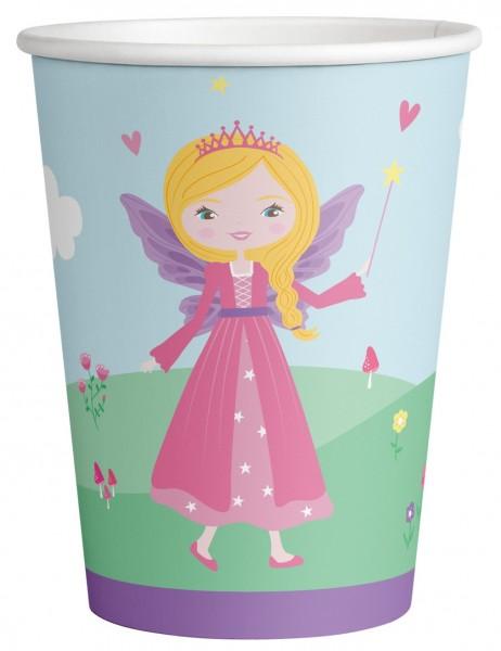 8 Prinzessin Anastasia Pappbecher 250ml