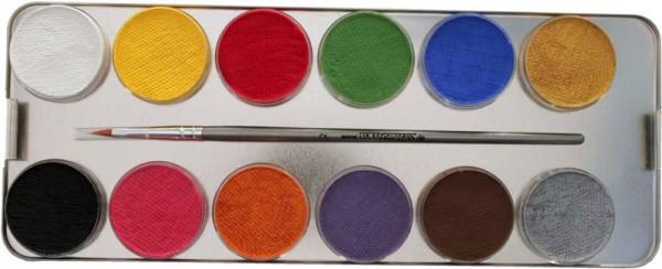 24 Farben Schmink Set Mit Glitzer
