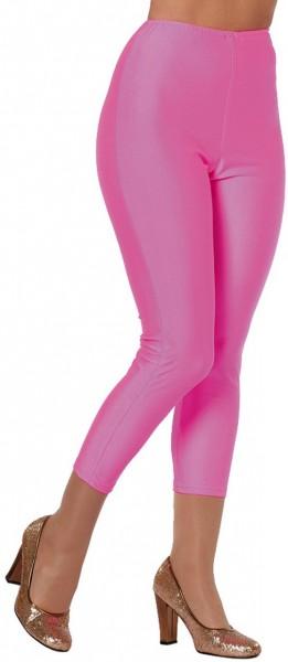 Disco-legging Neon roze
