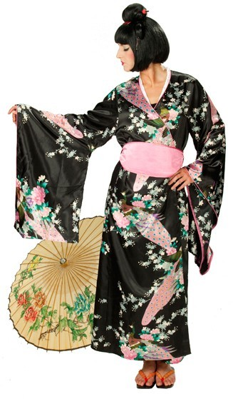 Kimono flower dream ladies costume