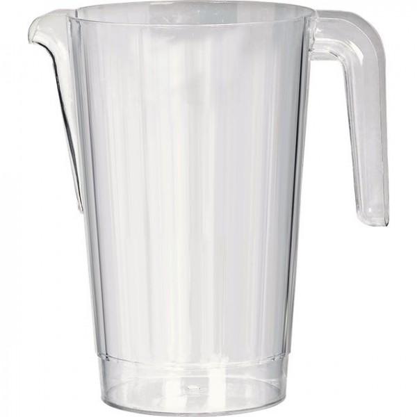 Kunststoff Krug transparent 1,4l