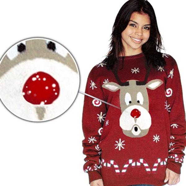 Suéter navideño Funky Nose Rudolph Unisex