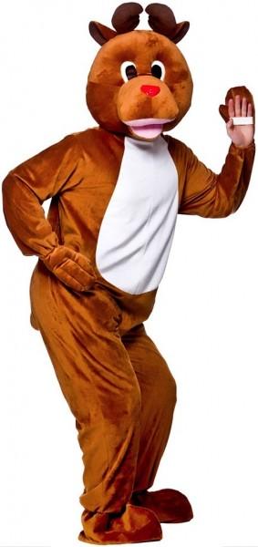 Disfraz de reno mascota