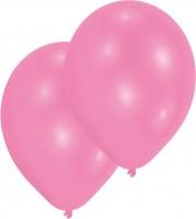 10er-Set Luftballons Rosa 27,5cm