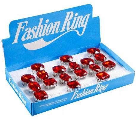 Blutstein Ring Blutrot Rubinrot 1