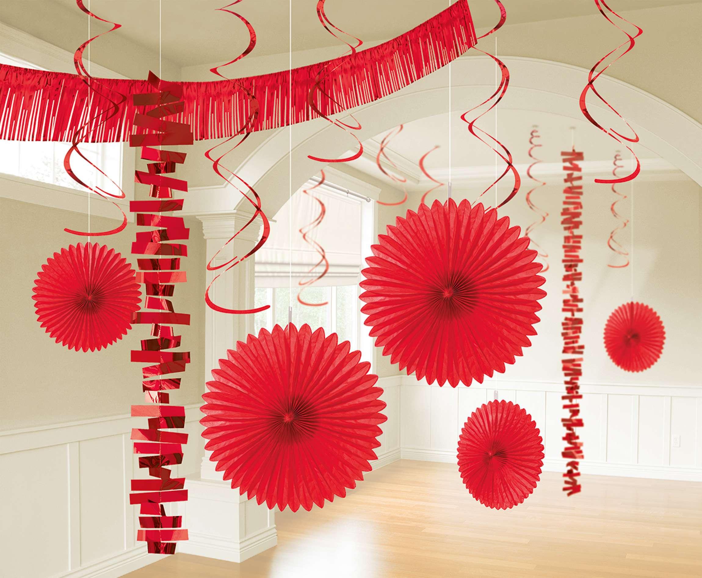 5 Deko Spiralen Silberhochzeit 61 cm Hochzeitsdeko silber Party Dekoration 25.