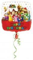 Folienballon Super Mario Geburtstagsfeier