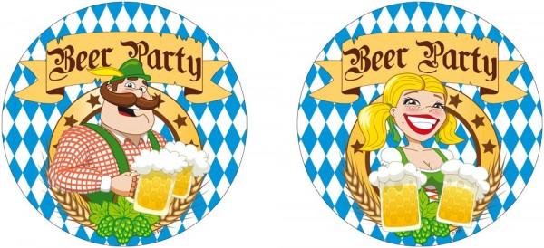 10 Beer Festival Oktoberfest coasters