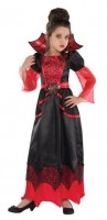 Scarlett Lady Vampir Kostüm für Kinder