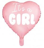 Baby Prinzessin Herzballon 45cm