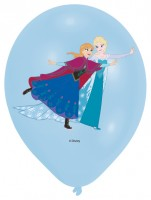 6 Frozen Eiszauber Luftballons 27,5cm