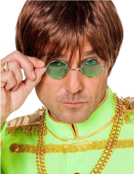 Grüne John Lennon Brille