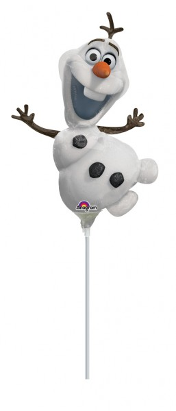 Stabballon Fröhlicher Olaf