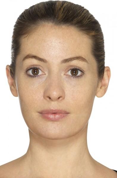 Realistisches Falten Make-Up Set 3-teilig