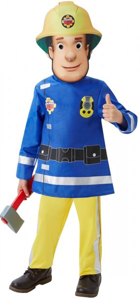 Firefighter Sam Child Costume Deluxe - Maat T.