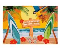 6 Hawaii Invitation Einladungskarten