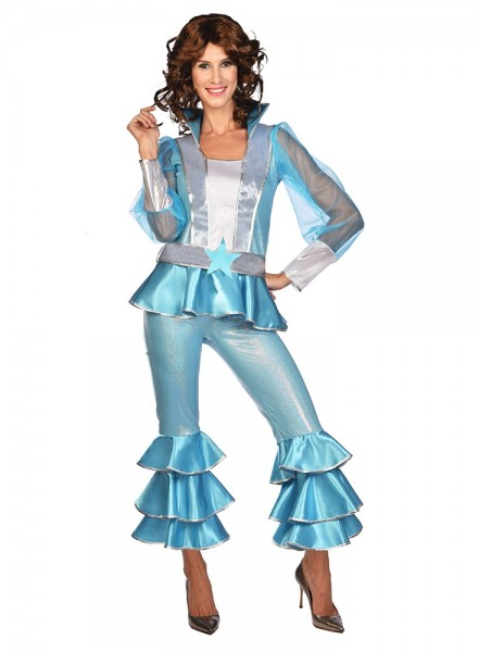 70's Dancing Queen Agnetha Costume Women's