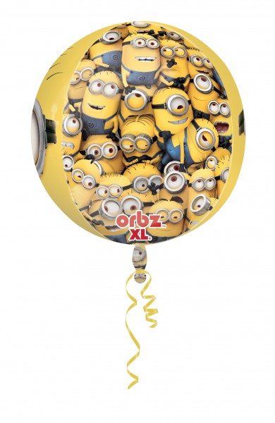 Orbz Folienballon Minion Parade