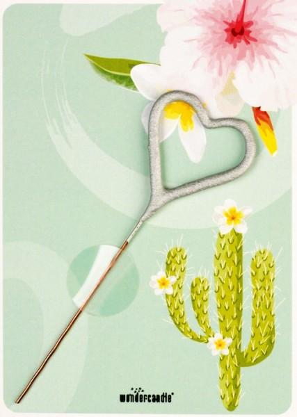 Cactus & Flowers Wondercard