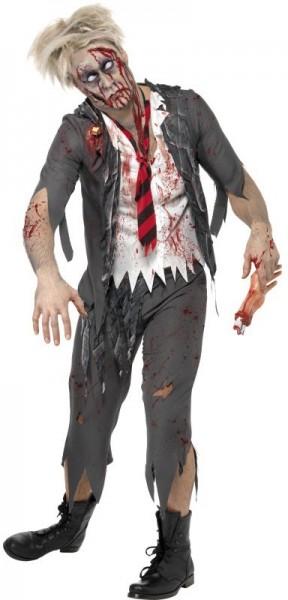 Déguisement de zombie du cabinet d'horreur déchiqueté