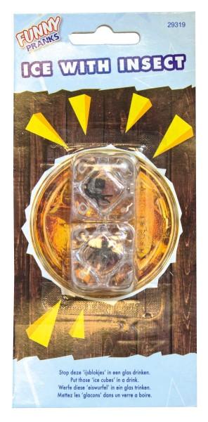 Eiswürfel mit Insekten Scherzartikel 1