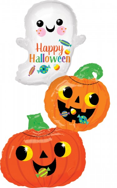 Happy Halloween Folienballon im Candy-Design