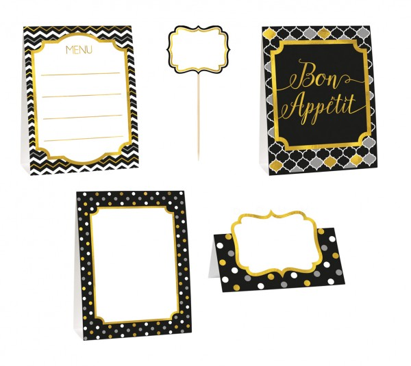 Enjoy buffet decoration set 12 pieces
