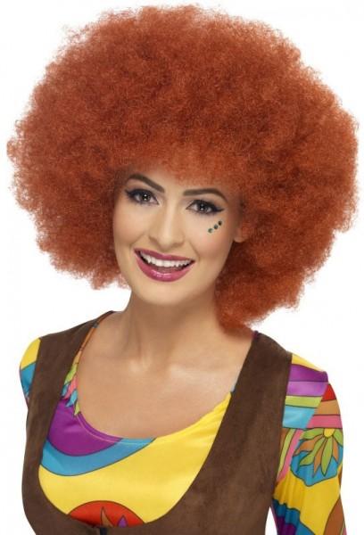 Lucilla Afro Perücke In Rostbraun
