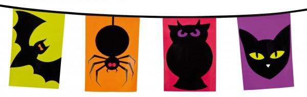 Cadena de banderines de desfile de monstruos de Halloween | Party.es