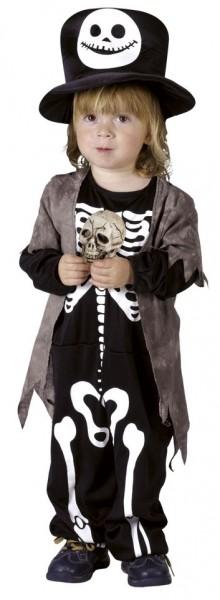 Costume da scheletro per bimbo