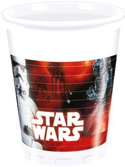 8 Star Wars Dark Side Becher 200ml