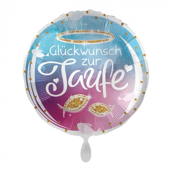 Felicitaciones por el globo de aluminio de bautizo 43cm.
