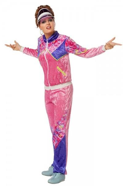 80s tracksuit Tina ladies costume