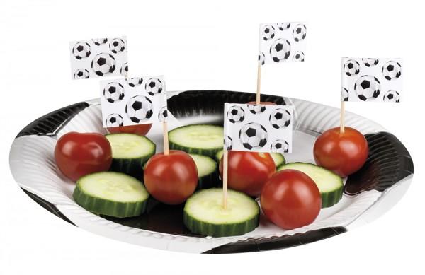24 Party Spieße Fußball-Star