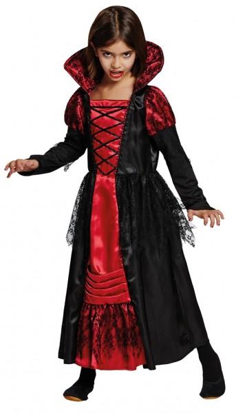Kleine Vampir Lady Xenia Kinder-Kostüm 1