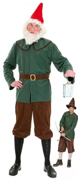 Variabelen Middeleeuws krijger kostuum voor mannen