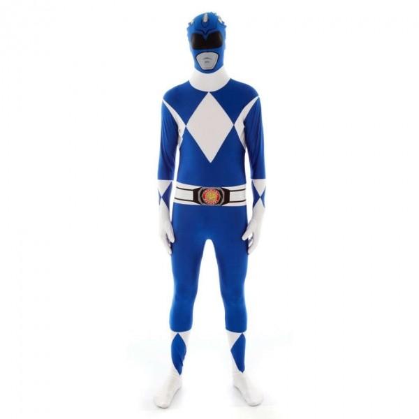 Ultimate Power Rangers Morphsuit blau