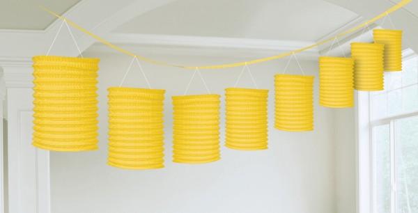 Gelbo paper lantern garland 3.65m
