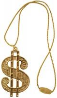 Hip Hopper Dollar-Kette Gold