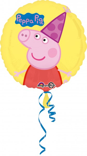 Peppa Wutz Partytime Folienballon