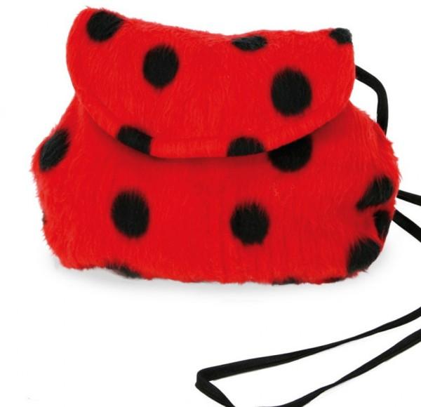 Kuschelige Marienkäfer Plüsch Tasche