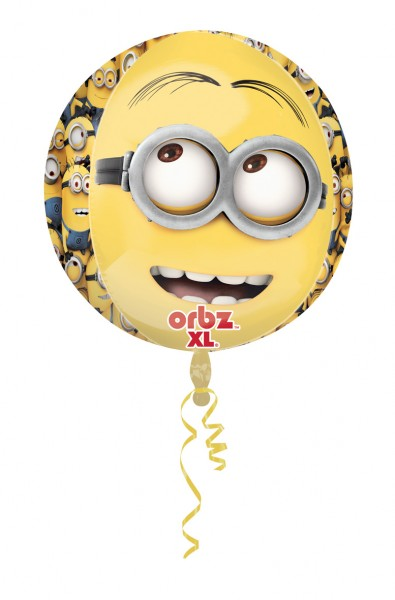 Runder Folienballon Minion Parade