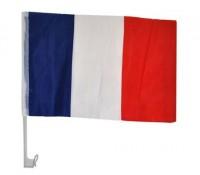 Frankreich Autoflagge