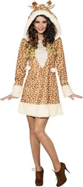 Giraffen Plüsch Kleid Kostüm